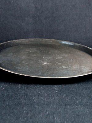 "Tray - 16 "" Round Black (Non slip)"