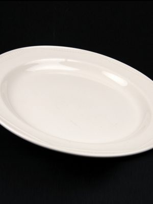 "DINNER PLATE 10"" WHITE CROCKERY HIRE"