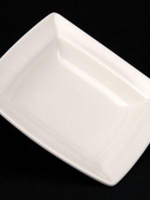 square white plate hire