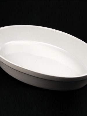 "VEG DISH - CHINA 14"" (PLAIN)"